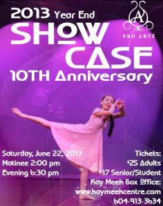 June 2013 Poster
