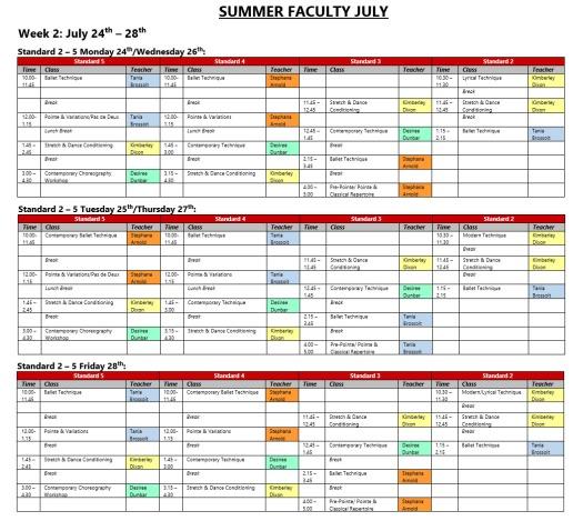 July Week 2